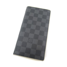 LOUIS VUITTON【ルイ・ヴィトン】 長財布(小銭入れあり) ダミエキャンバス レディース
