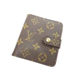 LOUIS VUITTON【ルイ・ヴィトン】 M61667 二つ折り財布(小銭入れあり) モノグラムキャンバス レディース