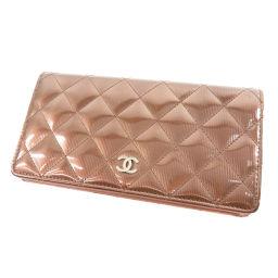 CHANEL【シャネル】 二つ折り財布(小銭入れあり) ビニール レディース