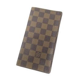 LOUIS VUITTON【ルイ・ヴィトン】 M60825 長財布(小銭入れなし) ダミエキャンバス レディース