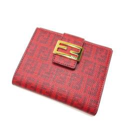 FENDI【フェンディ】 二つ折り財布(小銭入れあり) PVC レディース