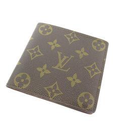 LOUIS VUITTON【ルイ・ヴィトン】 二つ折り財布(小銭入れなし) モノグラムキャンバス メンズ