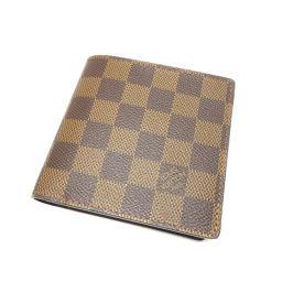 LOUIS VUITTON【ルイ・ヴィトン】 N61675 二つ折り財布(小銭入れあり) ダミエキャンバス ユニセックス