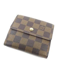 LOUIS VUITTON【ルイ・ヴィトン】 N61652 二つ折り財布(小銭入れあり) ダミエキャンバス レディース