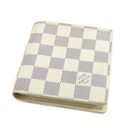LOUIS VUITTON【ルイ・ヴィトン】 N60018 二つ折り財布(小銭入れあり) ダミエキャンバス レディース