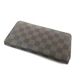 LOUIS VUITTON【ルイ・ヴィトン】 N60015 長財布(小銭入れあり) ダミエキャンバス レディース.