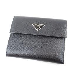 PRADA【プラダ】 M170A 二つ折り財布(小銭入れあり) レザー レディース