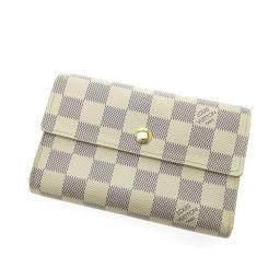 LOUIS VUITTON【ルイ・ヴィトン】 N63068 二つ折り財布(小銭入れあり) ダミエキャンバス レディース