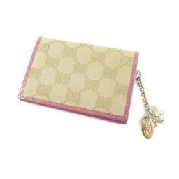 GUCCI【グッチ】 154178・486184 カードケース キャンバス レディース