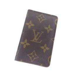 LOUIS VUITTON【ルイ・ヴィトン】 カードケース モノグラムキャンバス レディース