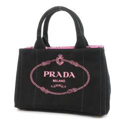 PRADA【プラダ】 1BG439 トートバッグ キャンバス レディース