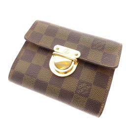 LOUIS VUITTON【ルイ・ヴィトン】 N60005 二つ折り財布(小銭入れあり) ダミエキャンバス レディース