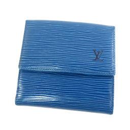 LOUIS VUITTON【ルイ・ヴィトン】 M63485 二つ折り財布(小銭入れあり) エピレザー ユニセックス