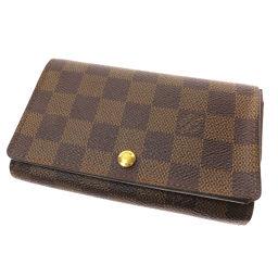 LOUIS VUITTON【ルイ・ヴィトン】 N61730 二つ折り財布(小銭入れあり) ダミエキャンバス レディース