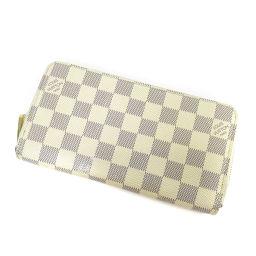LOUIS VUITTON【ルイ・ヴィトン】 N60019 長財布(小銭入れあり) ダミエキャンバス レディース