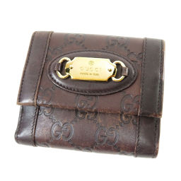 GUCCI【グッチ】 146198 二つ折り財布(小銭入れあり) レザー レディース