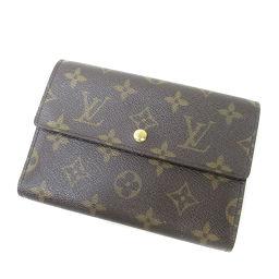 LOUIS VUITTON【ルイ・ヴィトン】 M61202 二つ折り財布(小銭入れあり) モノグラムキャンバス ユニセックス
