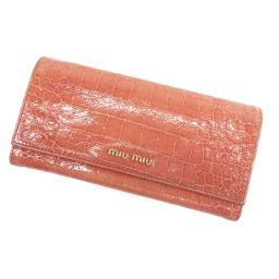 MIUMIU【ミュウミュウ】 長財布(小銭入れあり) カーフ レディース