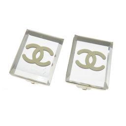 CHANEL【シャネル】 8150 イヤリング 金属製/プラスティック/プラスティック レディース