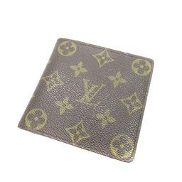 LOUIS VUITTON【ルイ・ヴィトン】 M61675 二つ折り財布(小銭入れあり) モノグラムキャンバス レディース