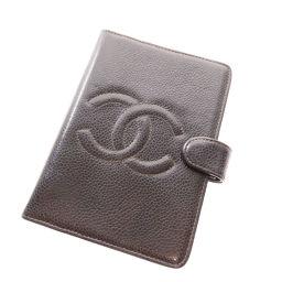 CHANEL【シャネル】 8150 手帳カバー キャビアスキン レディース