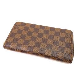 LOUIS VUITTON【ルイ・ヴィトン】 N60015 長財布(小銭入れあり) ダミエキャンバス レディース
