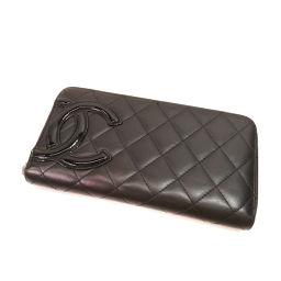 CHANEL【シャネル】 7990 長財布(小銭入れあり) カーフ レディース
