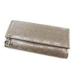 GUCCI【グッチ】 212104 長財布(小銭入れあり) PVC レディース