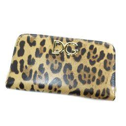 DOLCE&GABBANA【ドルチェアンドガッバーナ】 長財布(小銭入れあり) PVC レディース