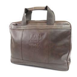 Longchamp【ロンシャン】 ビジネスバッグ レザー メンズ