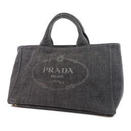 PRADA【プラダ】 1BG642 トートバッグ デニム レディース