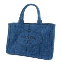 PRADA【プラダ】 ハンドバッグ デニム レディース