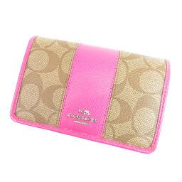 COACH【コーチ】 F52857 8031 二つ折り財布(小銭入れあり) PVC レディース