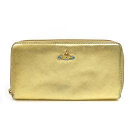 Vivienne Westwood【ヴィヴィアン・ウエストウッド】 長財布(小銭入れあり) レザー レディース