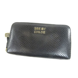 8aabb056e69f SEE BY CHLOE【シーバイクロエ】 長財布(小銭入れあり) レザー レディース