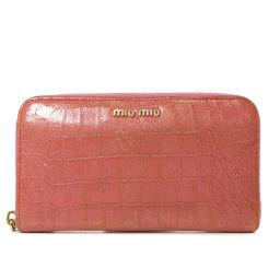 MIUMIU【ミュウミュウ】 長財布(小銭入れあり) レザー レディース