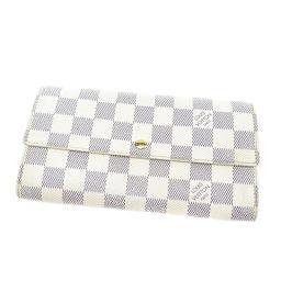 LOUIS VUITTON【ルイ・ヴィトン】 N61735 長財布(小銭入れあり) ダミエキャンバス レディース