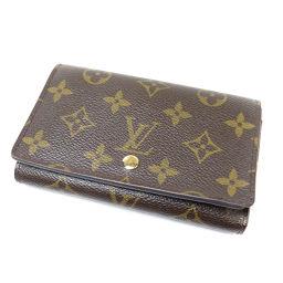 LOUIS VUITTON【ルイ・ヴィトン】 M61736 二つ折り財布(小銭入れあり) モノグラムキャンバス レディース