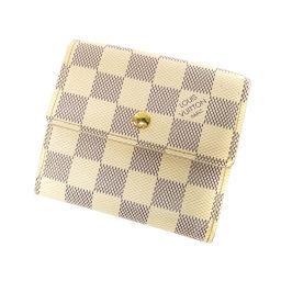 LOUIS VUITTON【ルイ・ヴィトン】 N61733 二つ折り財布(小銭入れあり) ダミエキャンバス レディース