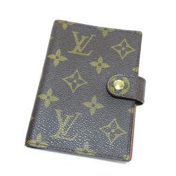 LOUIS VUITTON【ルイ・ヴィトン】 手帳カバー モノグラムキャンバス ユニセックス