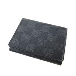 LOUIS VUITTON【ルイ・ヴィトン】 N63338 カードケース ダミエキャンバス メンズ