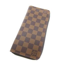 LOUIS VUITTON【ルイ・ヴィトン】 N61207 長財布(小銭入れあり) ダミエキャンバス メンズ