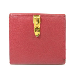 GUCCI【グッチ】 035・184 二つ折り財布(小銭入れあり) レザー レディース