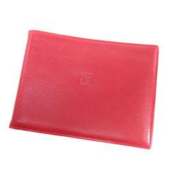 LOEWE【ロエベ】 二つ折り財布(小銭入れなし) ラムスキン レディース