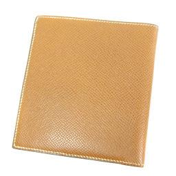 HERMES【エルメス】 二つ折り財布(小銭入れなし) エプソン ユニセックス