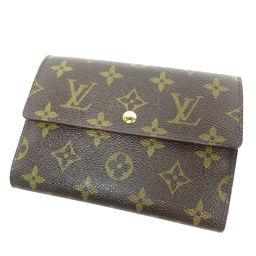 LOUIS VUITTON【ルイ・ヴィトン】 M61202 二つ折り財布(小銭入れあり) モノグラムキャンバス レディース