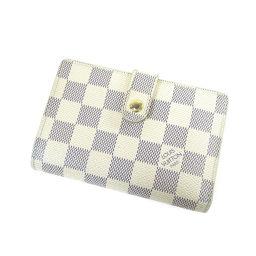 LOUIS VUITTON【ルイ・ヴィトン】 N61676 二つ折り財布(小銭入れあり) ダミエキャンバス レディース