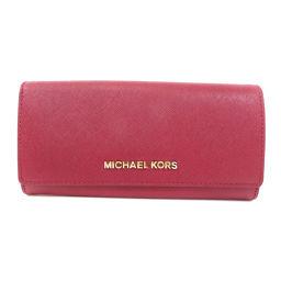 Michael Kors【マイケルコース】 長財布(小銭入れあり) レザー レディース