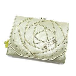 ANNA SUI【アナスイ】 二つ折り財布(小銭入れあり) 合成皮革 レディース