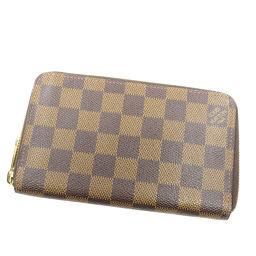 LOUIS VUITTON【ルイ・ヴィトン】 N60028 長財布(小銭入れあり) ダミエキャンバス レディース